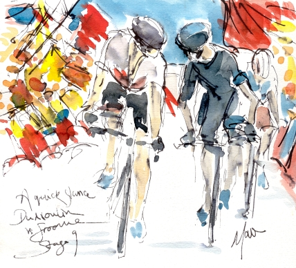 Cycling art, froome