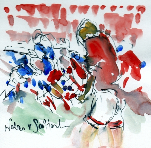 Six Nations: Wales v Scotland by Maxine Dodd