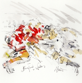 Six Nations - England vs Wales, by Maxine Dodd