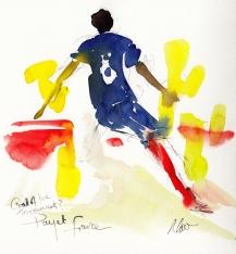 Football art, Payet, France
