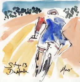 Tour de France, art, Dumoulin
