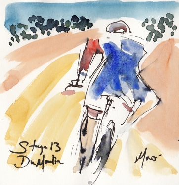 Tour de France, art, Dumoulin