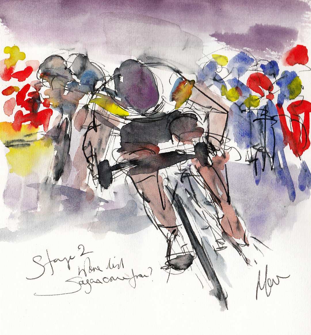 Tour de France, Cycling art, Where did Sagan come from?