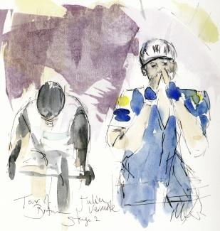 Cycling, art, Julien Vermote, Maxine Dodd