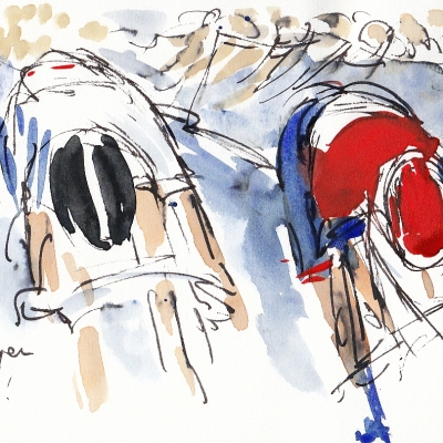 Cycling, art, Tour of Britain
