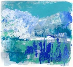 Landscape art, Across the blue