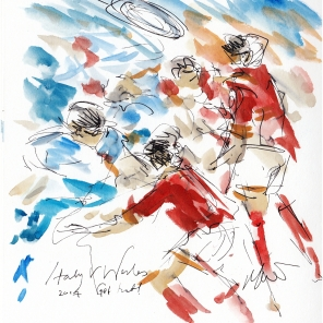 Rugby Art, Six Nations, 6 Nations