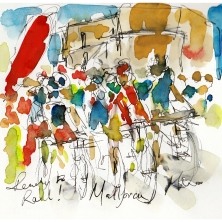 cycling art, Mallorca