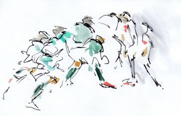 Rugby, art, Six Nations