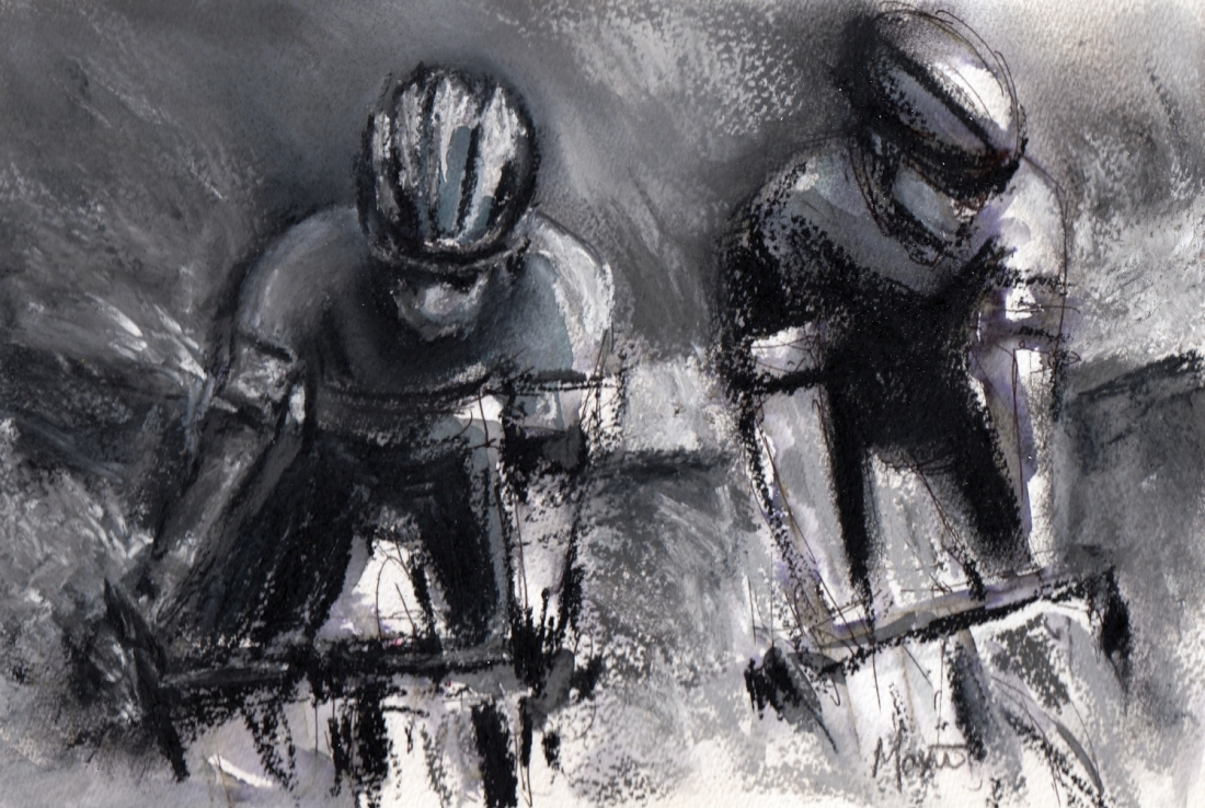 cycling, art,