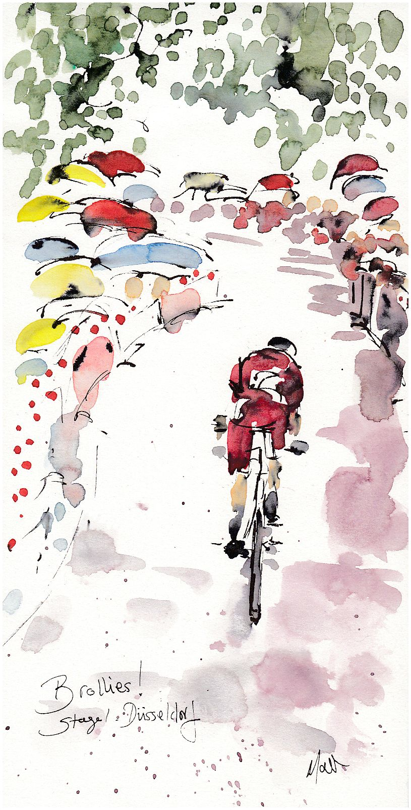 Cycling, art, Tour de France