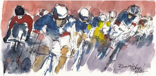 Tour de France, cycling, art