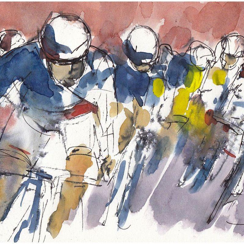 Tour de France, cycling, art