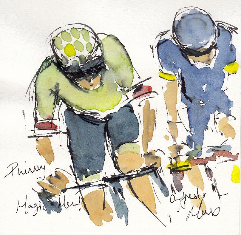 cycling art, tour de france, tdf2017