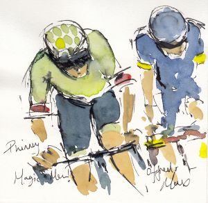 cycling art, tour de france, tdf2017