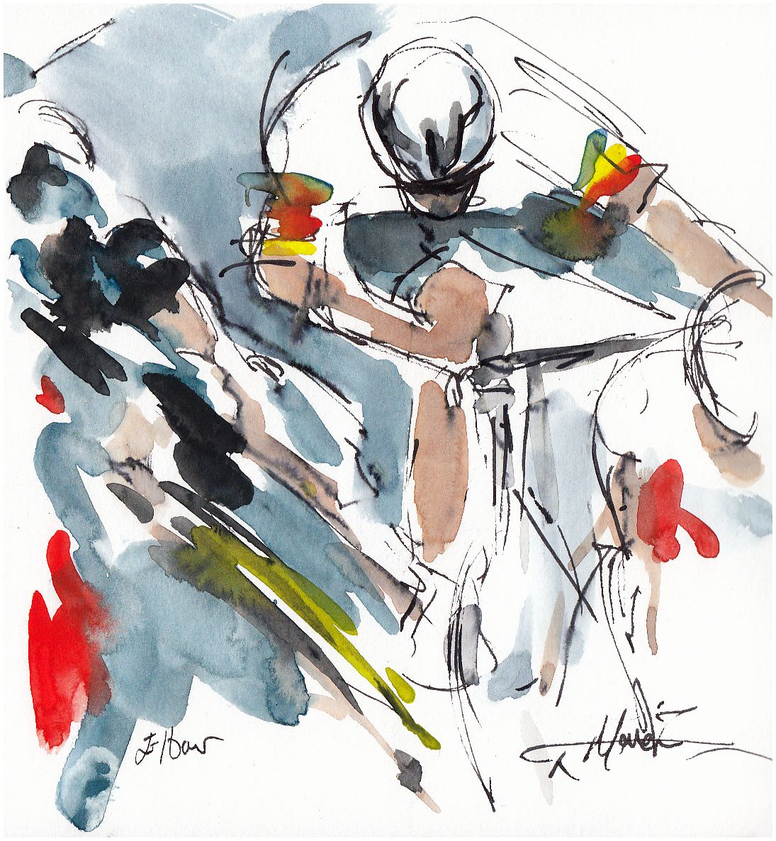 cycling, art, tour de france, cavendish, sagan