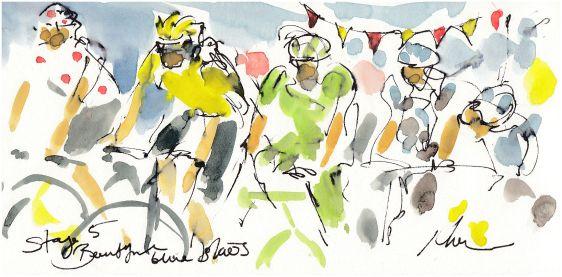 cycling, art, tour de france,