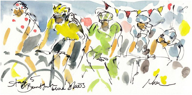 cycling, art, tour de france,