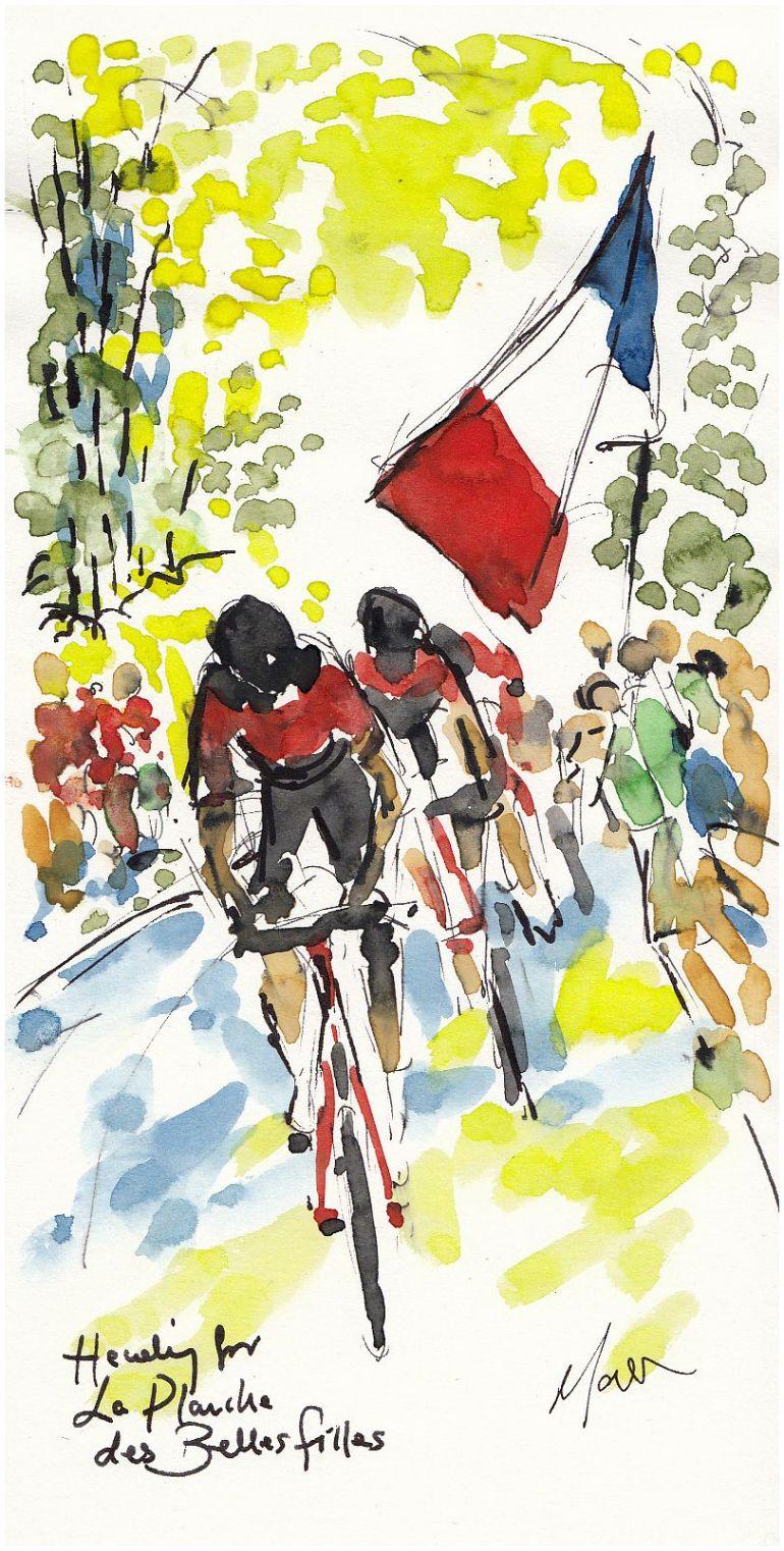 cycling, tour de france, tdf2017, art