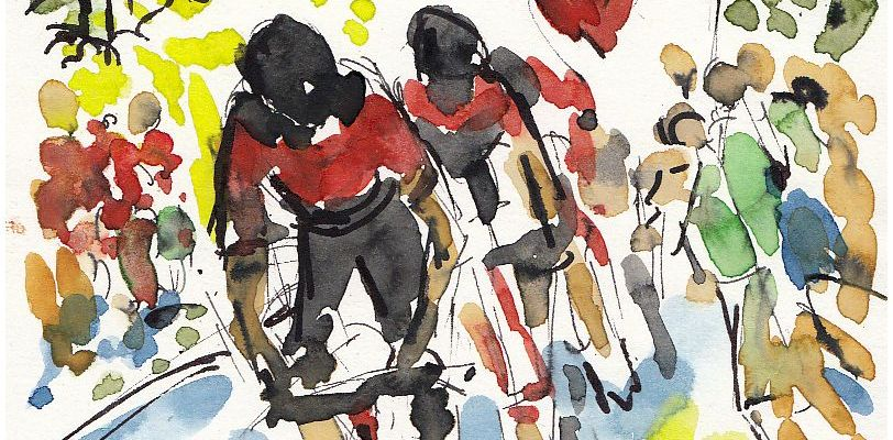 cycling, tour de france, tdf2017, art