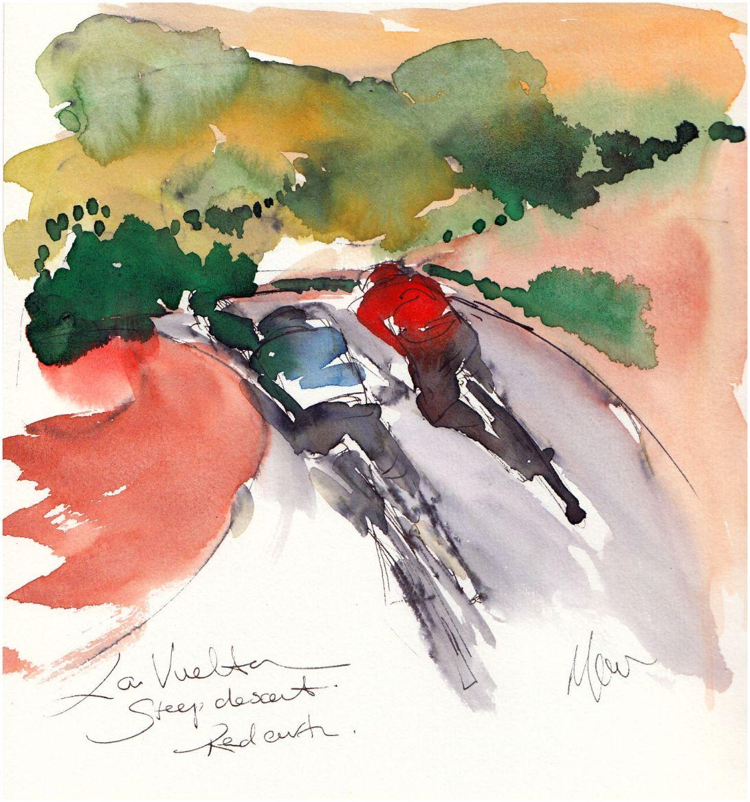 Cycling art, La Vuelta
