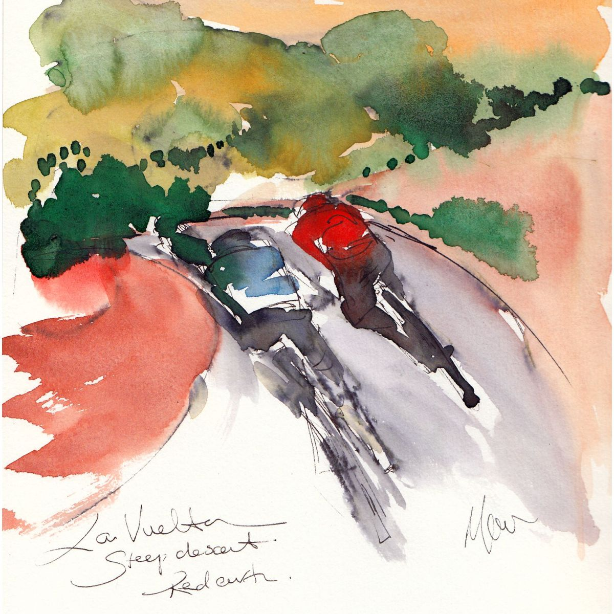 Cycling art, La Vuelta