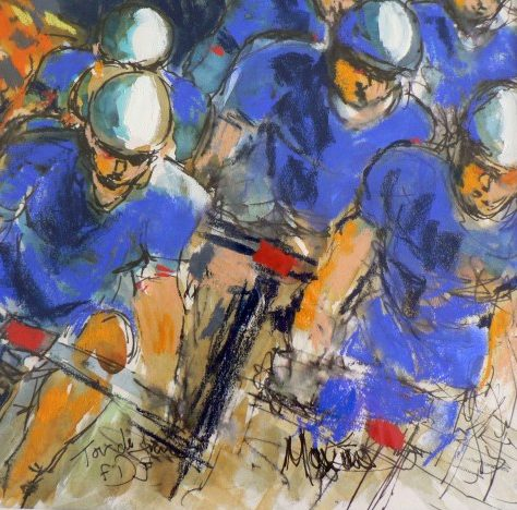 Maxine Dodd: Racing lines
