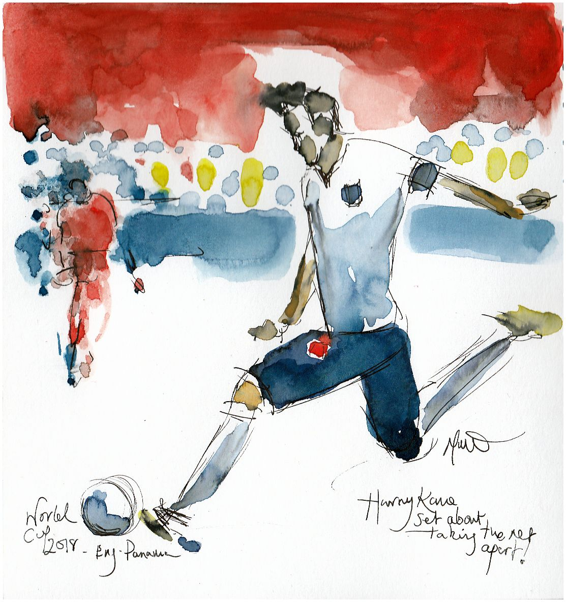 Football, World Cup 2018, Harry Kane, England