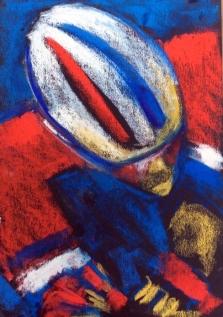 Cycling art, tour de France, dumoulin