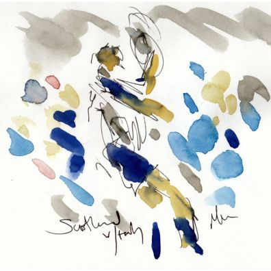 rugby, six nations, Scotland v Italy, sketch 1