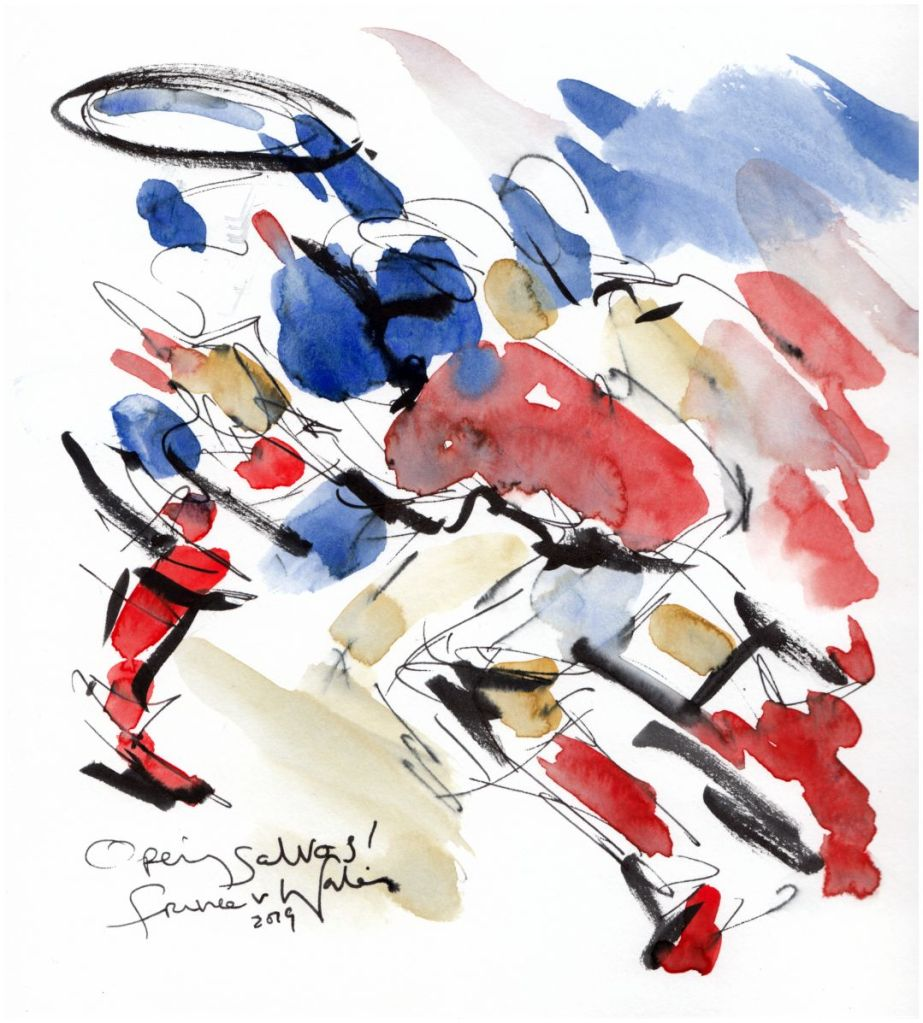 rugby art, opening salvos, six nations 2019