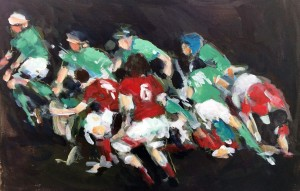 Rugby art