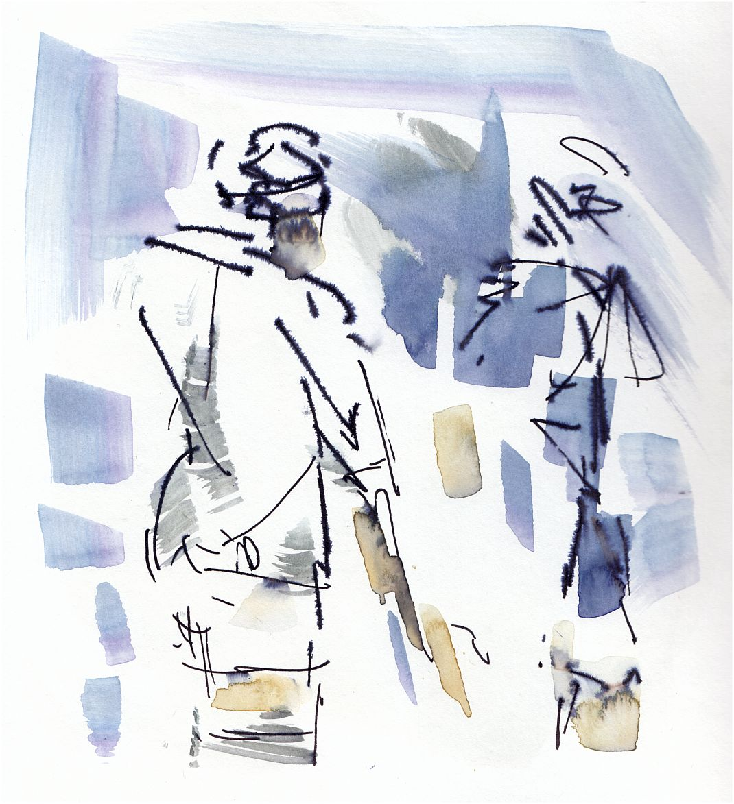 Six Nations, Rugby art, England v Scotland - Pause