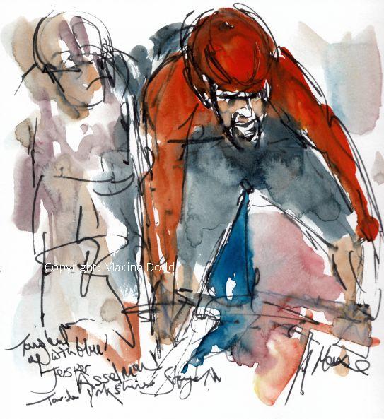 cycling art, Jesper Assel
