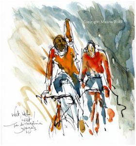cycling, Tour de Yorkshire,Wet, Wet, Wet