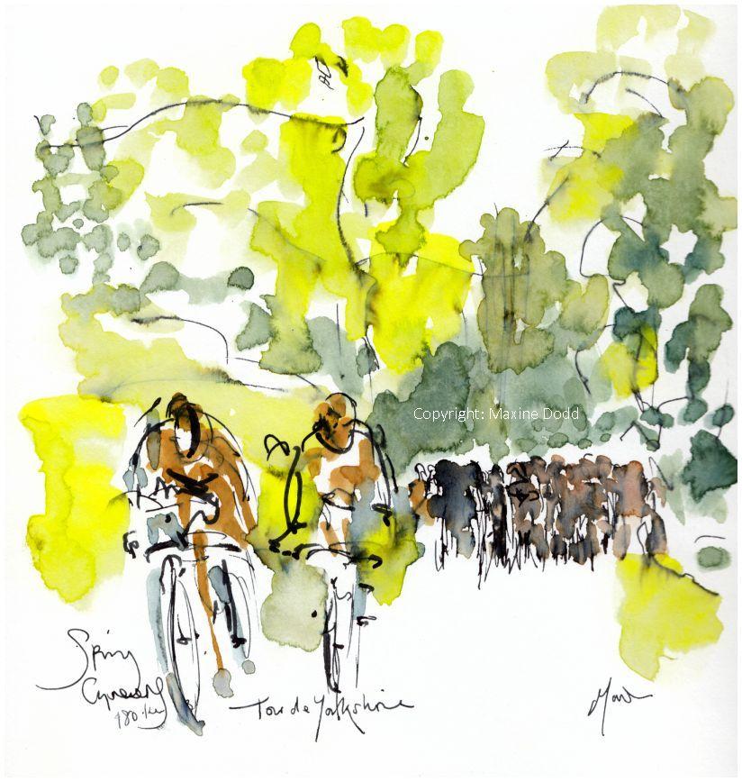 cycling, Tour de Yorkshire, Spring Greens