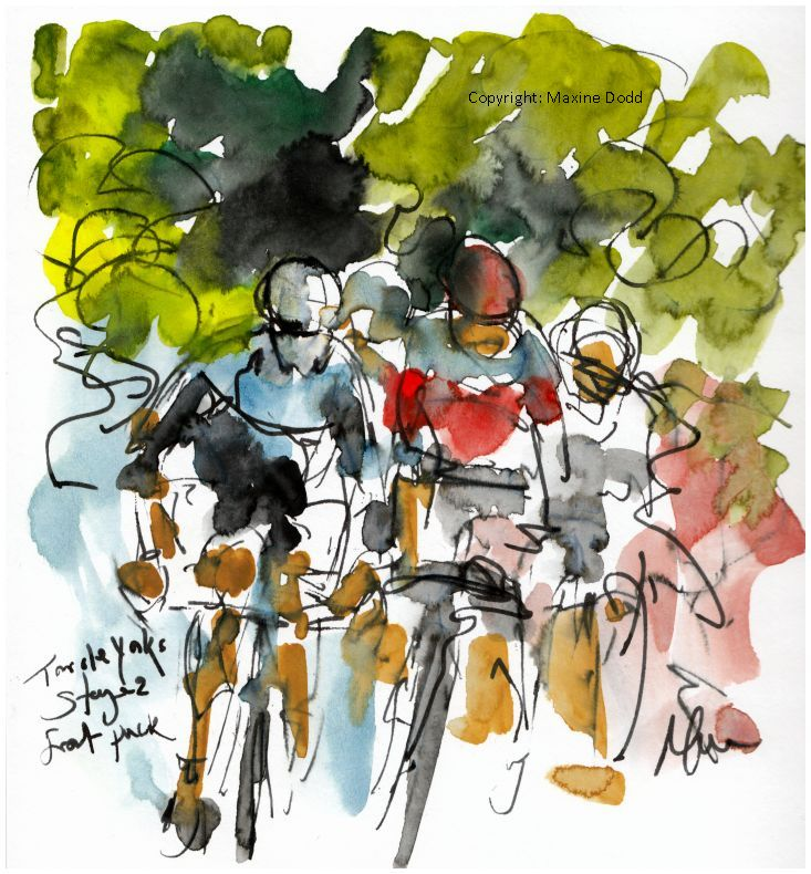 cycling art, Tour of Yorkshire