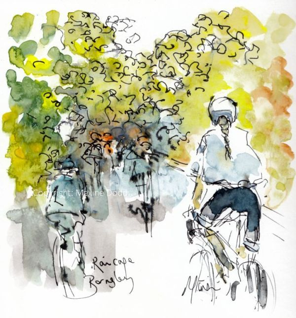 cycling art, Women's Tour de Yorkshire