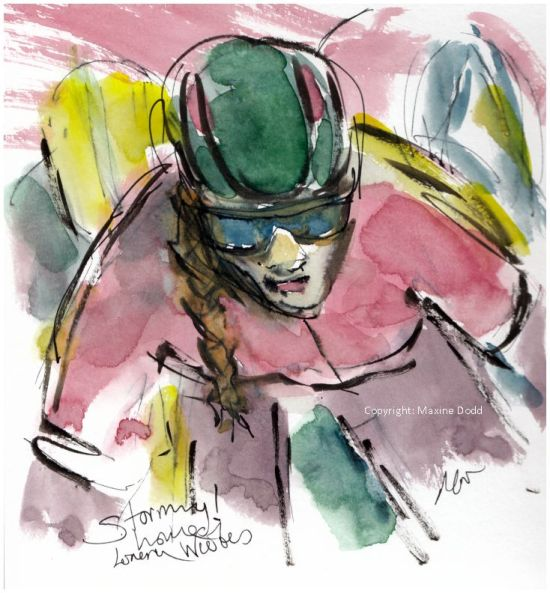 cycling art, Women's Tour of Yorkshire