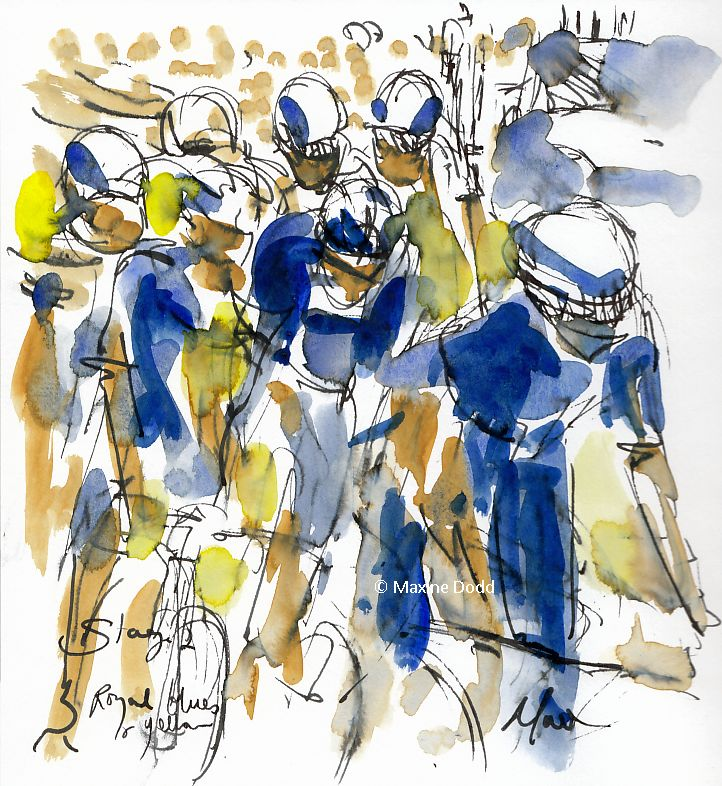 cycling art, tour de france, le tour