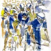 cycling art, tour de france, le tour