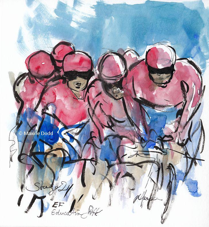 cycling art, tour de france, letour