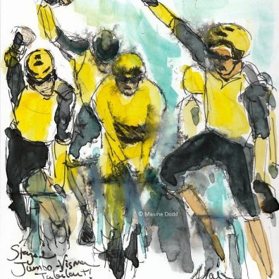 cycling art, tour de france,tdf2019, le tour