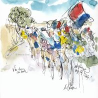Cycling art, Tour de France 2019