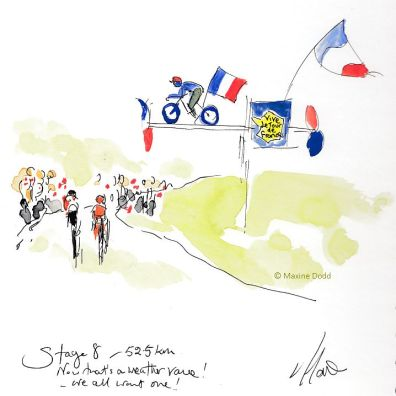cycling art, Tour de France